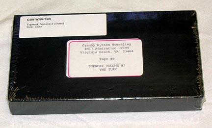 Topwork, Volume 3 (Video) (VHS)