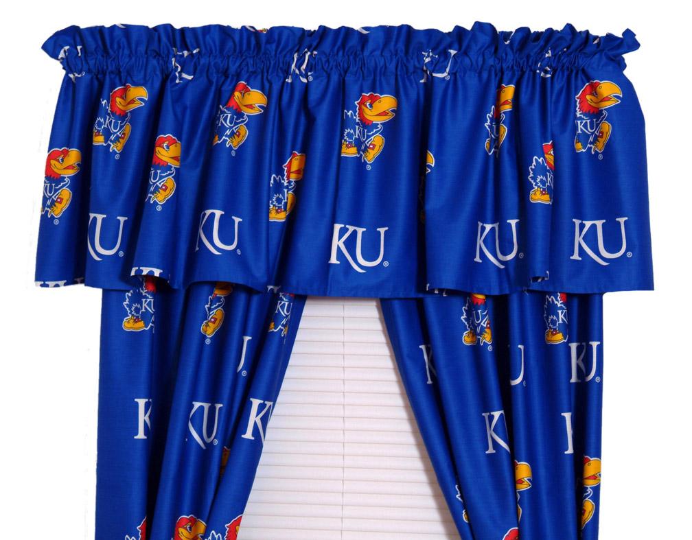 """Kansas Jayhawks 63"""" Curtain"""