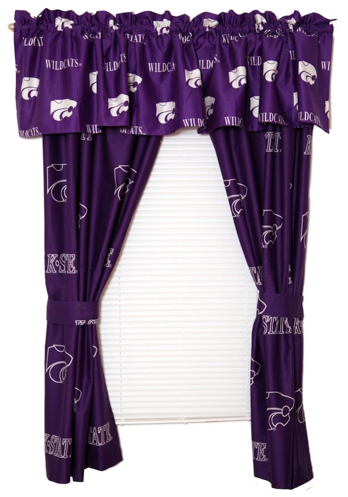 "Kansas State Wildcats 63 "" Curtain"