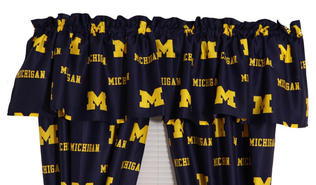 Michigan Wolverines Valance