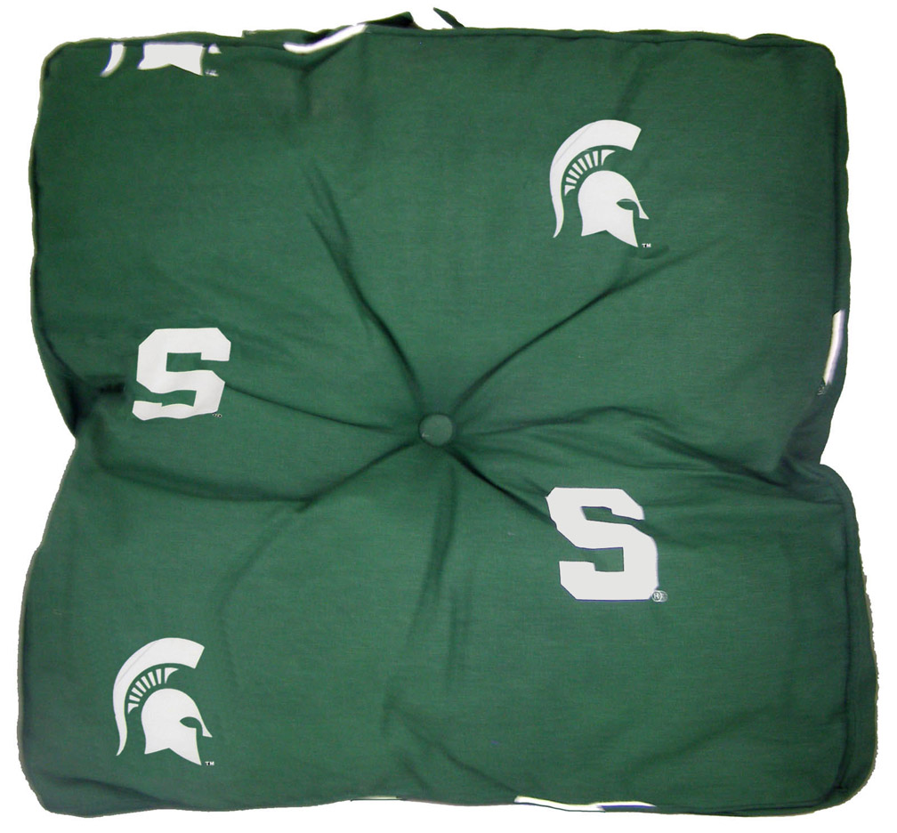 "Michigan State Spartans 24"" x 24"" Floor Pillow"