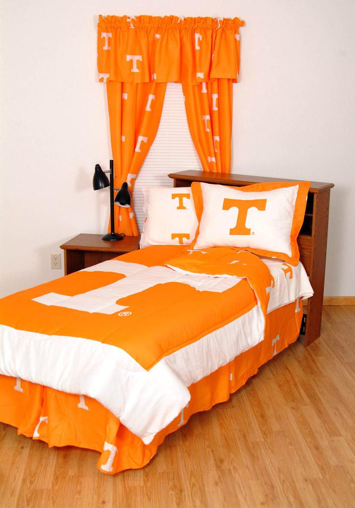 Tennessee Volunteers Queen Bedding