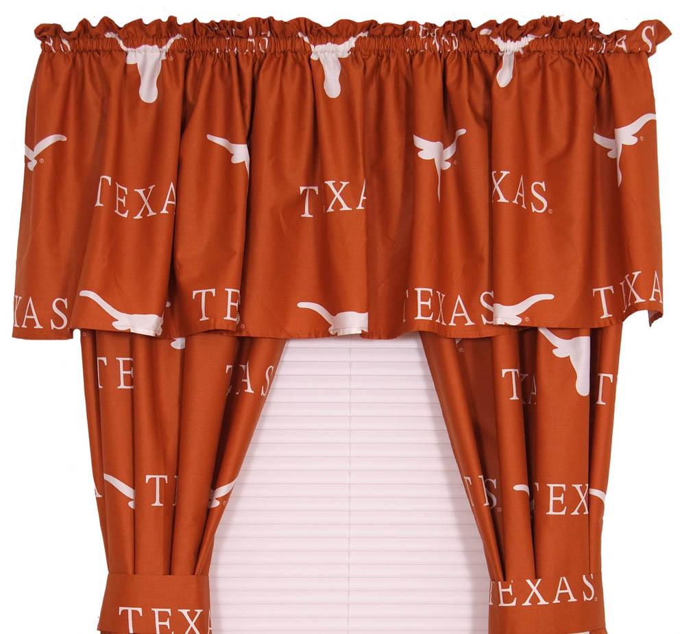 """Texas Longhorns 84"""" Curtain"""