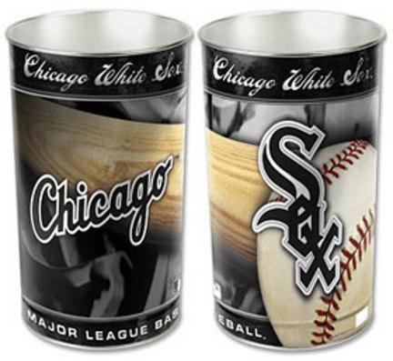 Chicago White Sox 15in Waste Basket