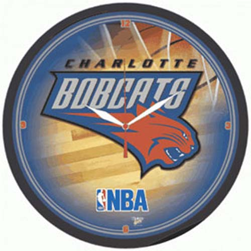Charlotte Bobcats Wall Clock from WinCraft