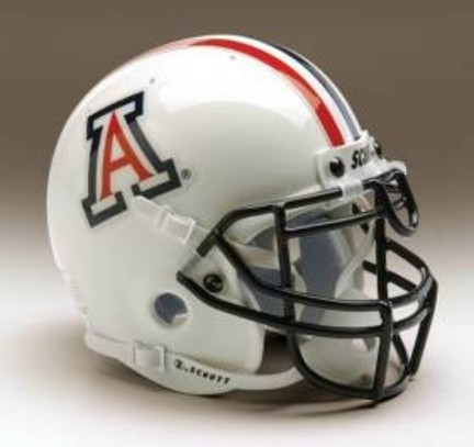 Arizona Wildcats 1990-2003 Schutt Throwback Mini Helmet