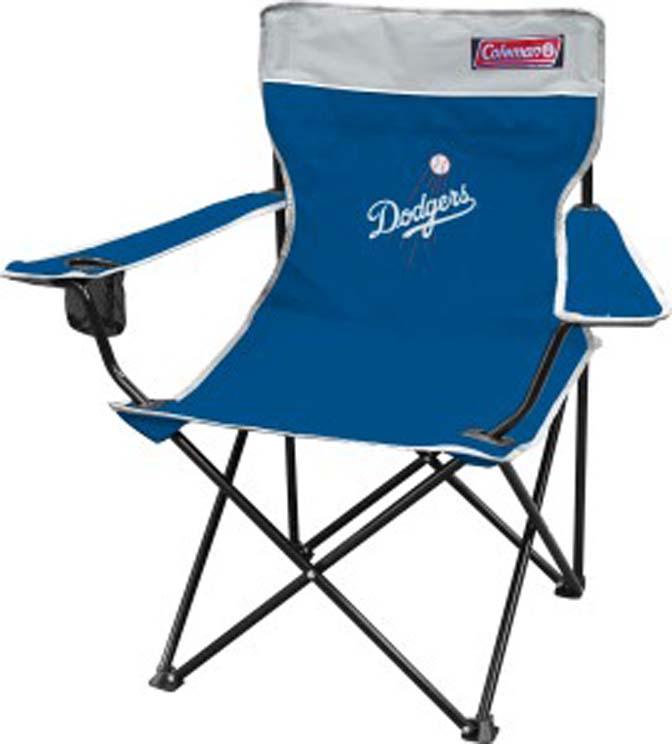 Los Angeles Dodgers Coleman Quad Chair CD-1509922911