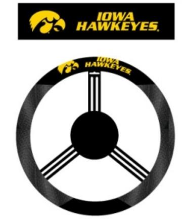 Iowa Hawkeyes Mesh Steering Wheel Cover