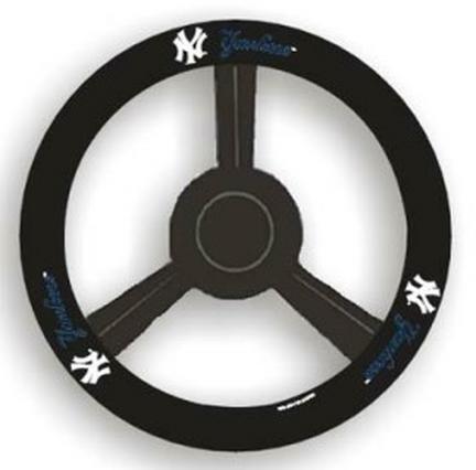 new york yankees steering wheel cover yankees steering wheel cover yankees steering wheel covers. Black Bedroom Furniture Sets. Home Design Ideas
