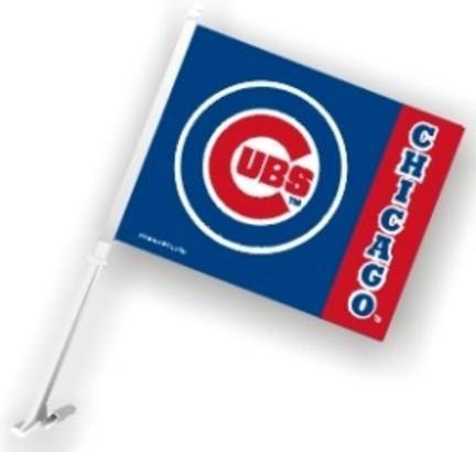 Chicago Cubs Car Flags - 1 Pair CD-2324568916