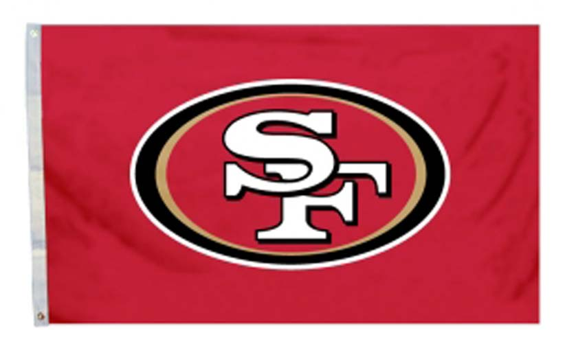 San Francisco 49ers 3' x 5' All Pro Design Flag