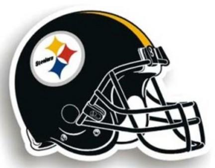"""Pittsburgh Steelers 12"""""""" Helmet Car Magnets - Set of 2"""" CD-2324598713"""