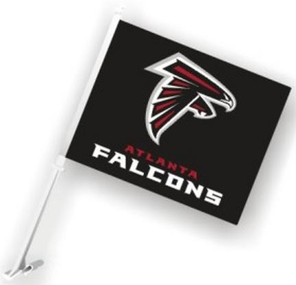 Atlanta Falcons Car Flags - 1 Pair