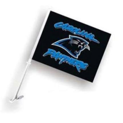 Carolina Panthers Car Flags (Black) - 1 Pair CD-2324598940