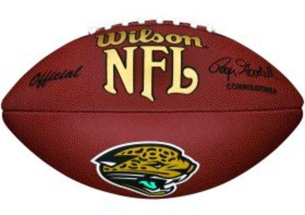 Jacksonville Jaguars Composite Football from Wilson