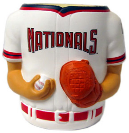 Washington Nationals Jersey Can Coolers - Set of 4