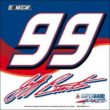 Jeff Burton #99 Car Flag