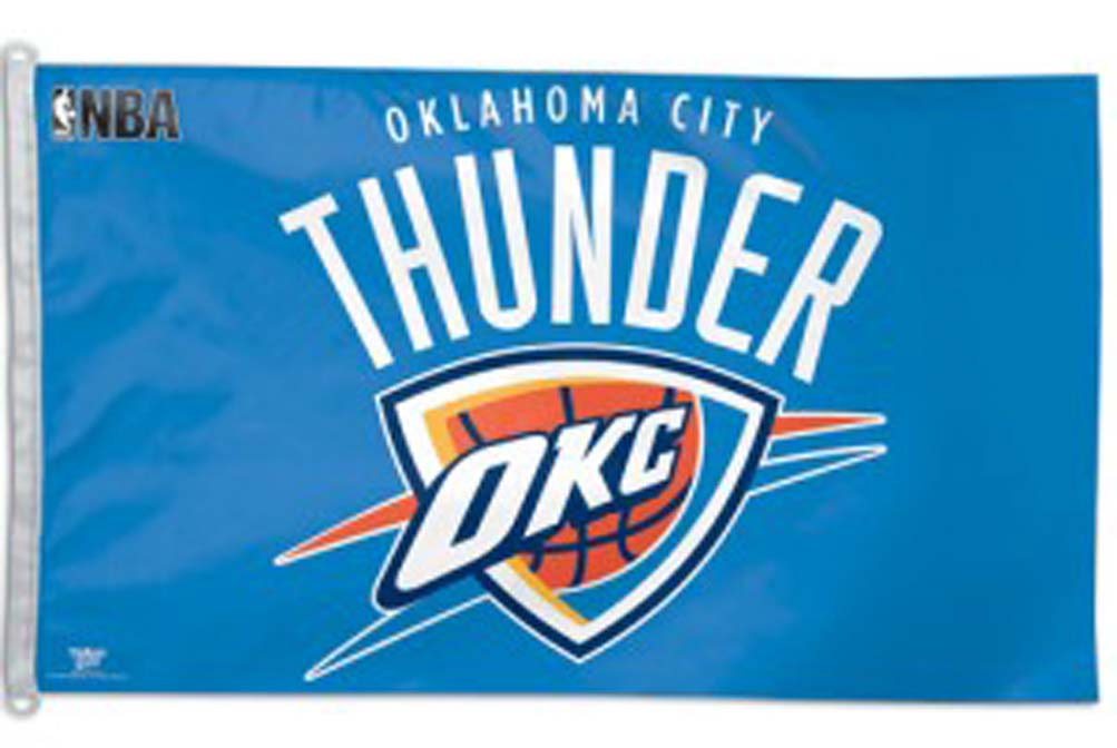 Oklahoma City Thunder 3' x 5' Flag from WinCraft CD-3208542306