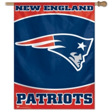 """New England Patriots 27"""" x 37"""" Vertical Flag / Banner from WinCraft"""