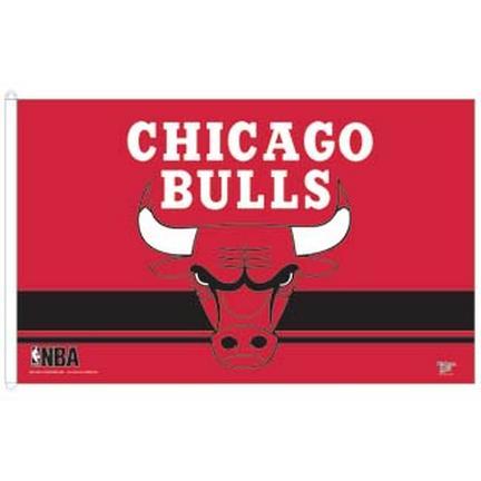 Chicago Bulls 3' x 5' Flag CD-3208501956