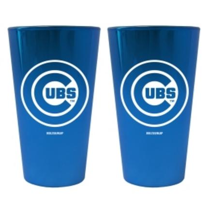 Chicago Cubs Lusterware 16 oz. Pint Glasses - Set of 2 CD-4245103489