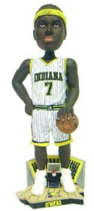 Jermaine O'Neal Indiana Pacers Limited Edition Bobble Head Doll from Forever Collectibles