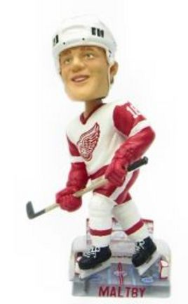 Kirk Maltby Detroit Red Wings Action Pose Bobble Head Doll from Forever Collectibles