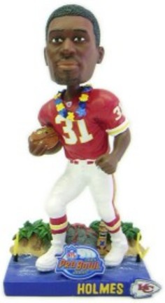 Priest Holmes Kansas City Chiefs 2003 Pro Bowl Bobble Head Doll (Red Jersey) from Forever Collectibles