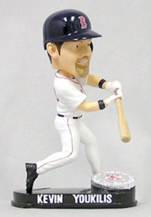 Kevin Youkilis Boston Red Sox Limited Edition Platinum Bobble Head Doll from Forever Collectibles CD-8132943183