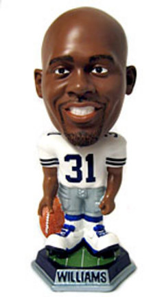 Roy Williams Dallas Cowboys Knucklehead Bobble Head Doll from Forever Collectibles