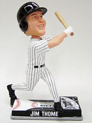 Jim Thome Chicago White Sox On Field Bobble Head Doll from Forever Collectibles