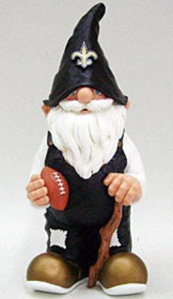 """New Orleans Saints 11"""" Garden Gnome"""