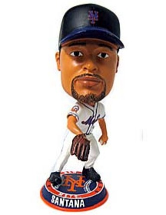 Johan Santana New York Mets Phathead Bobble Head Doll from Forever Collectibles