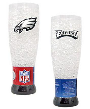 Philadelphia Eagles Plastic Crystal Pilsners - Set of 2