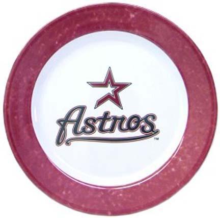 Houston Astros Dinner Plates - Set of 4
