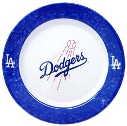 Los Angeles Dodgers Dinner Plates - Set of 4