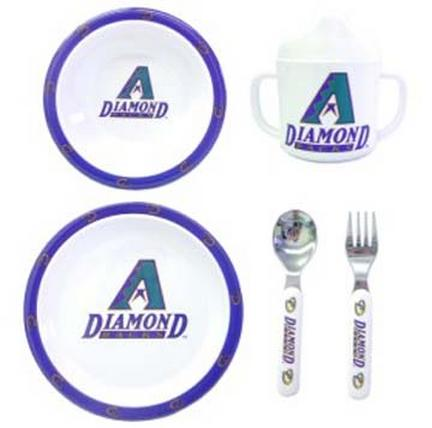 Arizona Diamondbacks 5 Piece Children's Dinner Set