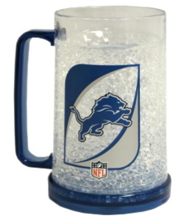 Detroit Lions Plastic Crystal Freezer Mugs - Set of 4 CD-9413159109