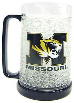 Missouri Tigers Plastic Crystal Freezer Mugs - Set of 4 CD-9413159420