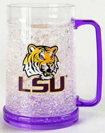 Louisiana State (LSU) Tigers Plastic Crystal Freezer Mugs - Set of 4