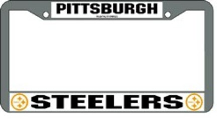 Pittsburgh Steelers License Plate Price Compare