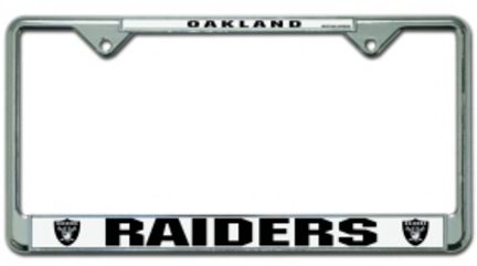 Oakland Raiders License Plate Price Compare