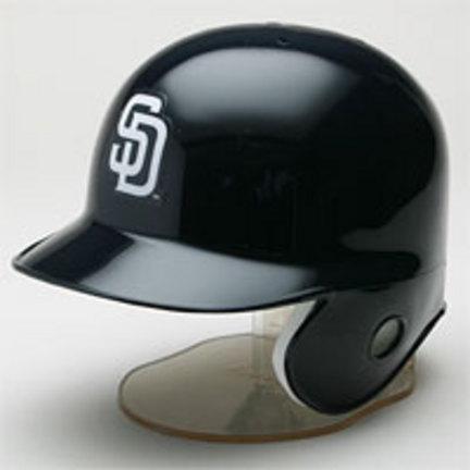 San Diego Padres MLB Replica Left Flap Mini Batting Helmet From Riddell