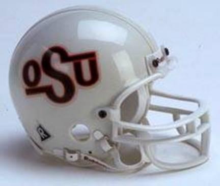 Oklahoma State Cowboys Riddell Throwback Replica Mini Football Helmet