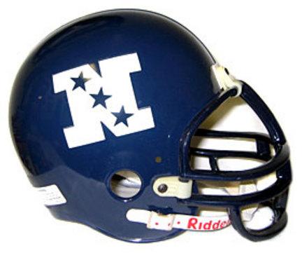 NFC Logo Riddell Deluxe Replica Full Size Helmet