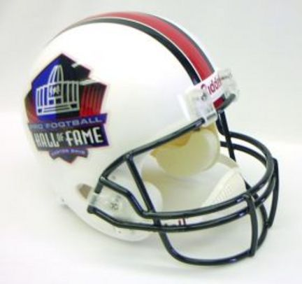 NFL Hall of Fame Riddell Full Size Replica Helmet