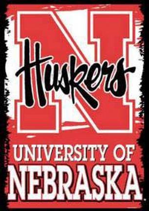 "Nebraska Cornhuskers 27"""" x 37"""" Vertical Flag / Banner"" CD-BAN554"
