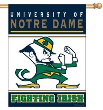 "Notre Dame Fighting Irish 27"""" x 37"""" Vertical Flag / Banner"" CD-BAN557"