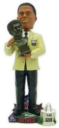 Elvin Bethea Houston Oilers Limited Edition Hall of Fame Bust Bobble Head Doll from Forever Collectibles CD-HOFBUSTBETHEA