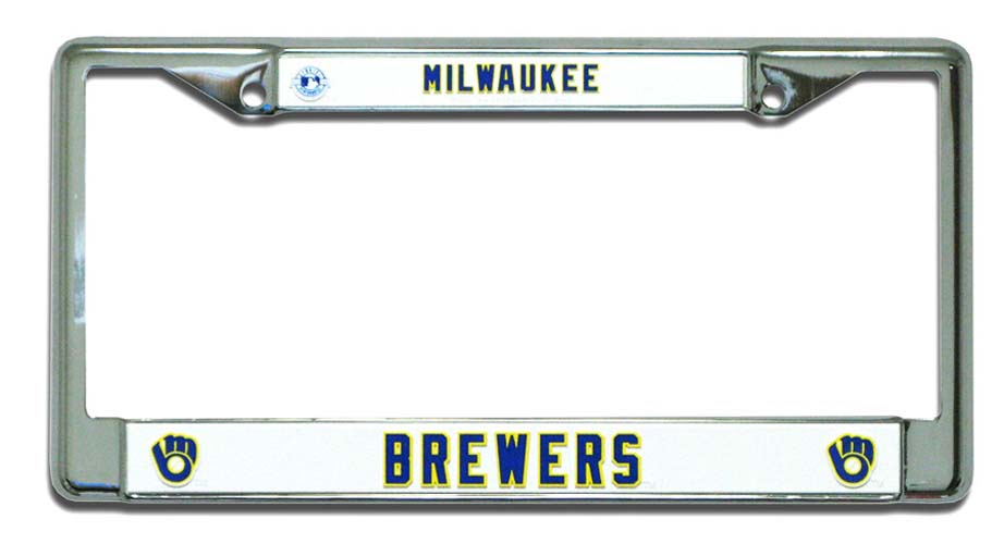 Brewers License Plate Milwaukee Brewers License Plate
